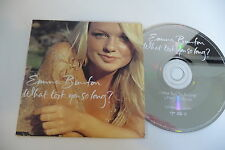 EMMA BUNTON (SPICE GIRLS) CD 2 TITRES POCHETTE CARTONNEE WHAT TOOK YOU SO LONG?