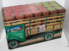 Silver Crane 1992 French Apple Delivery Truck Vendor Wagon Tin Box Container Can