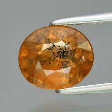 CERTIFICATE Incl.*1.36ct 7x6mm Oval Natural Unheated Yellow Sapphire, Tanga