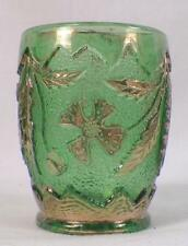 Delaware Toothpick Holder Green U S Glass EAPG 1899 15065 Antique Rare