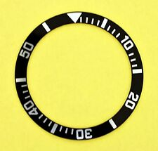 NEW SEIKO BEZEL INSERT FOR SEIKO 7S26-0040 DIVE WATCH NR-036