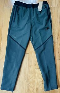 Adidas C.RDY Training Pants/Running Joggers, Legend Earth Green, GJ0344, Men's M