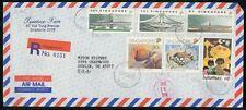 Mayfairstamps SINGAPORE COMMERCIAL 1990 COVER REGISTERED AIR MAIL wwk40909
