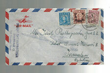 1947 Shanghai China Cover Jewish Ghetto Jerusalem Palestine Simon Rathsprecher