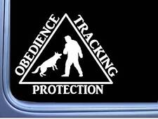 Schutzhund Tracking Obnedience Protection M349 6 inch Sticker Decal dog k9
