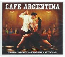 Cafe Argentina - 50 Original Tracks From Argentina's Greatest (2CD) NEW/SEALED
