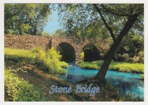 Stone Bridge modern U. S. 29 The Manassas National Battlefield Park VA postcard