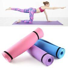 Non-Slip Yoga Mat Gymnastic Fitness Workout Exercise Physio Pilates Sport 173x61