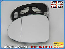 Renault Twingo 2008-2010  Wing Mirror Glass Aspheric HEATED Left #H027