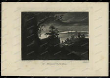 Druck-Stahlstich-Engraving-John Ruskin-Advanced-Naturalism-J.C. Armytage-19