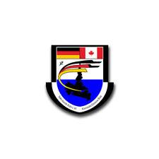 Aufkleber/Sticker Goose Bay Takt Ausb Kdo LW Luftwaffe Canada Wappen 7x7cm A865