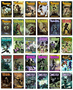 COMPLETE MIKE HOFFMAN COMICS COLLECTION! 31 Killer Books Bagged & Boarded!