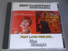 BERT KAEMPFERT cd BLUE MIDNIGHT that LATIN FEELING CD
