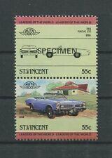 ST. VINCENT AUTO CARS USA PONTIAC GTO SPECIMEN MUSTER RARE! d6615