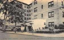 East Orange New Jersey Hotel Street View Antique Postcard K58984