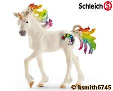 Schleich RAINBOW UNICORN FOAL horse animal solid plastic toy fantasy pet NEW 💥