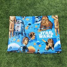 Rare VTG 70s Star Wars 1977 Movie Twin Flat Bed Sheet