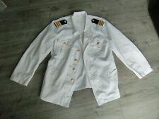 Reederei NDL Norddeutscher Lloyd Schiffs-Offiziers Jacke weiß alt Uniformjacke