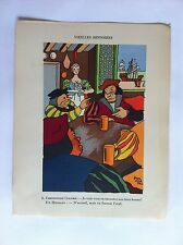 Vieilles histoires SANSTICKETS Dessin illustration POL FERJAC HUMOUR 1942