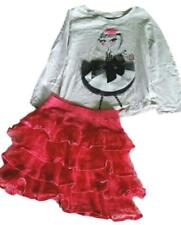 GAP Girls Dancing Girl Top Tee Tier Skirt Outfit Set PERFECT Size XS 4 4T 5 5T