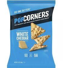 Popcorners Popped Corn Snack White Cheddar Gluten Free Snack 3Oz 85g (Pack Of 2)