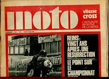 HEBDOMADAIRE MOTO VITESSE CROSS N°3. 1970.