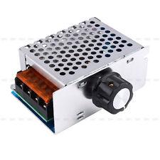 Hot 4000W 220V AC SCR Voltage Regulator Dimmer Electric Motor Speed Controller