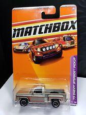 2010 MATCHBOX 1975 CHEVY STEPSIDE PICKUP TRUCK