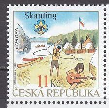 CZECH REPUBLIC 2007**MNH SC# 3344 Europa - Scouting