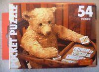 Vintage Steiff Teddy Bear Collectable - 54 Piece Pocket Puzzle Jigsaw #3 - BNIB