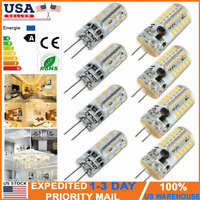 10Pcs/Set G4 LED Bi-Pin 48 SMD 5W AC 12v Light Bulb T3 Halogen Lamps Equivalent