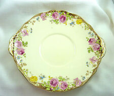 Vintage Royal Doulton English Rose Serving Plate, Platter c1939-1955