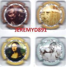Nouvel//Série de 6 capsules génériques  600 ème Anniversaire Léonard de Vinci