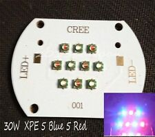 30W Cree XPE 5 Blue 5 Red Mix Color Multichip LED Plant Grow Light DIY Emitter