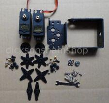 2 DOF Pan and Tilt MG995 Servos Sensor Mount kit, Arduino, Tower Pro(MG995-625L)