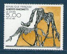 TIMBRE 2383 NEUF XX LUXE - ALBERTO GIACOMETTI - LE CHIEN