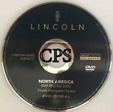 2003 2004 2005 LINCOLN AVIATOR NAVIGATION DISC DVD CD 3W4T10E987AA DISC MAP GPS