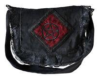 Gothic Black Unisex Pirate Vintage Victorian Halloween College Punk Shoulder Bag