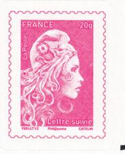 Lettre suivie YT 1656A - Marianne l'engagée (timbre auto-adhésif seul)