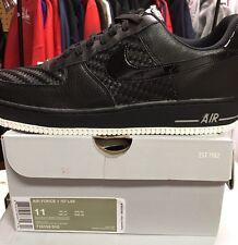 Nike Air Force 1 '07 LV8 Fashion Deadstock Sneakers Sz 11 Black