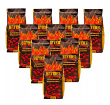 25kg Real Charcoal Briquettes Char coal For BBQ Barbecues. Restaurant Charcoal