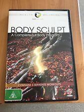 BODY SCULPT - A COMPLETE FULL BODY PROGRAM -  DVD -