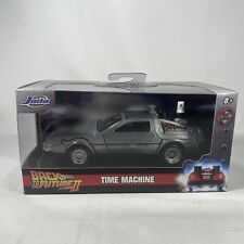 Jada Toys BACK TO THE FUTURE 2 Time Machine Delorean (Unopened) Die-cast- 24078