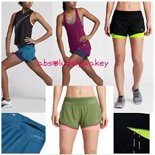 "Nike Rival Flex Women's 3"" (7.5cm approx) 2-in-1 Running Shorts Built-in Tights"