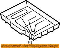 ford oem 99 14 e 350 super duty 5 4l v8 battery box tray bracket Ford E350 Radio ford oem 99 14 e 350 super duty 5 4l v8 battery