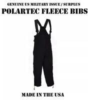 POLARTEC 200 Pants Liner XL Military FLEECE BIB OVERALLS SKI SNOW WORK Woman