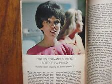 Aug-1964 TV Guide(PHYLLIS NEWMAN/JULIA CHILD/JUDY CARNE/RUDY VALLEE/E G MARSHALL