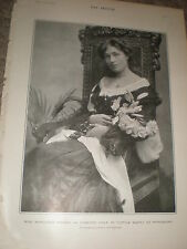Printed photo actress Margaret Fraser in Little Mary at Wyndham's 1903 ref Z