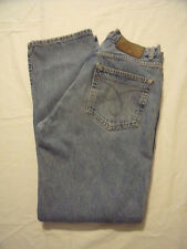 CALVIN KLEIN REGULAR FIT BUTTON FLY DOUBLE STONEWASHED JEANS MEN'S SIZE 31X32