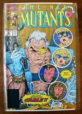 The New Mutants #87 (1990, Marvel) Comics, Gold Variant 2nd Print (NM) Books-Old